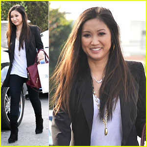 Brenda Song: Williams-Sonoma Stop