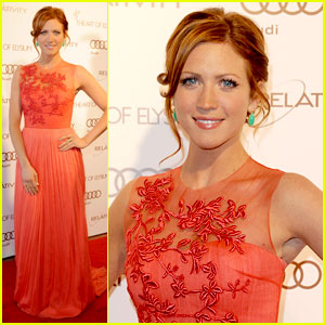 Brittany Snow: Heaven Gala Glam!