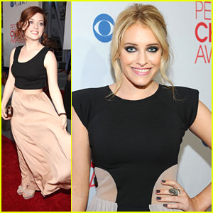 Carly Chaikin: People's Choice Awards with Jane Levy