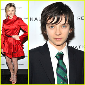 Chloe Moretz & Asa Butterfield: National Board of Review Gala
