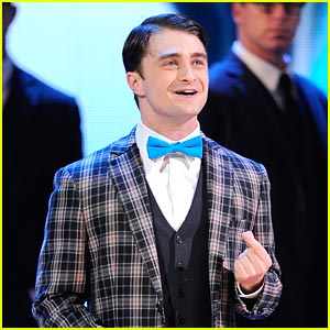 Daniel Radcliffe Says Goodbye to 'How To Succeed'