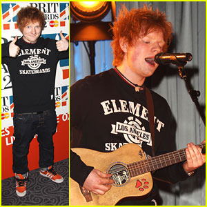 Ed Sheeran Scores Four BRIT Award Nominations