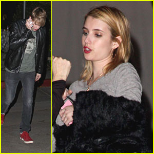 Emma Roberts: Chateau Marmont with Chord Overstreet