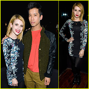 Emma Roberts: Sundance Party with Just Jared!
