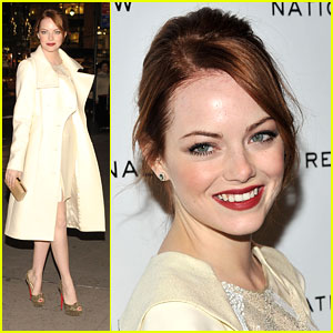 Emma Stone: National Board of Review Awards Gala