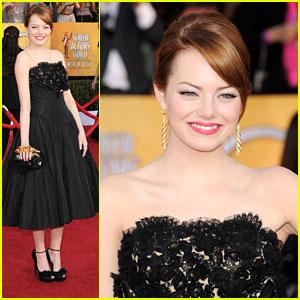 Emma Stone - SAG Awards 2012