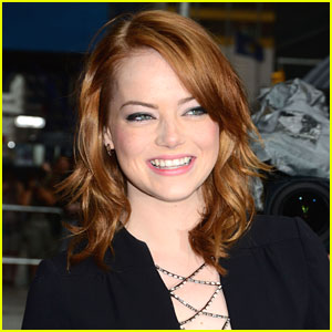 Emma Stone: 'Little White Corvette' Cutie
