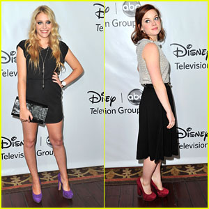 Jane Levy & Carly Chaikin: Winter Press Pair