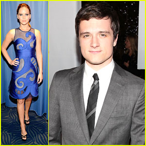 Jennifer Lawrence & Josh Hutcherson: People's Choice Awards 2012
