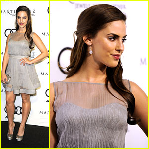Jessica Lowndes: Audi Golden Globes Party Girl