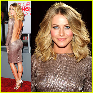 Julianne Hough: Bare Back at People's Choice Awards 2012