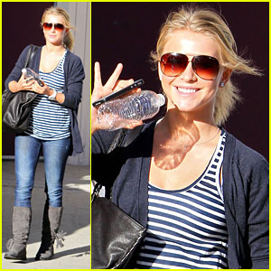 Julianne Hough: 'Rock of Ages' on Hollywood & Vine