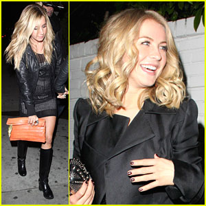 Ashley Tisdale & Julianne Hough: Girl's Night Out!