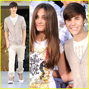 Justin Bieber: Michael Jackson Hand & Footprint Ceremony
