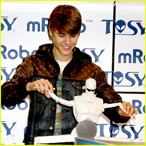 Justin Bieber: TOSY Toy Reveal in Vegas