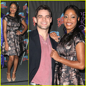 Keke Palmer & Jeremy Jordan Bring 'Joyful Noise' to Planet Hollywood