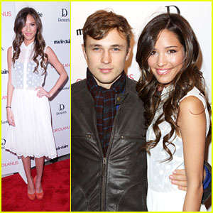 Kelsey Chow & William Moseley: 'Coriolanus' Couple