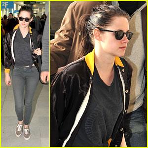 Kristen Stewart: Paris Arrival