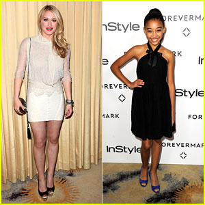 Leven Rambin &#038; Amandla Stenberg: Forevermark Friends