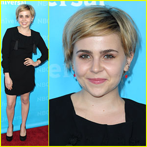 Mae Whitman: NBC TCA Party Pretty
