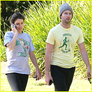 Nikki Reed & Paul McDonald: Winter Walk