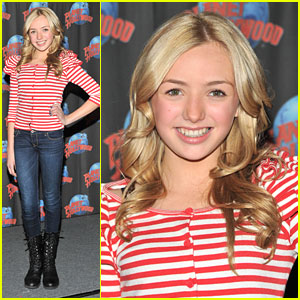 Peyton List Hits Planet Hollywood