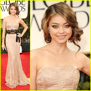 Sarah Hyland - Golden Globe Awards 2012