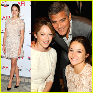George Clooney on Shailene Woodley: 'I'm Really Impressed with Her'