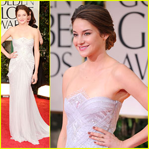 Shailene Woodley - Golden Globes 2012