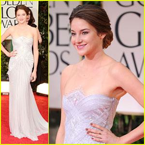 Shailene Woodley - Golden Globes 2012