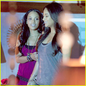 Shay Mitchell & Bianca Lawson Share 'A Kiss Before Lying'