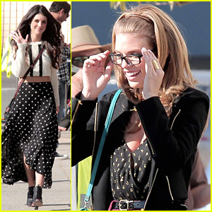 Shenae Grimes: Back on '90210' Set