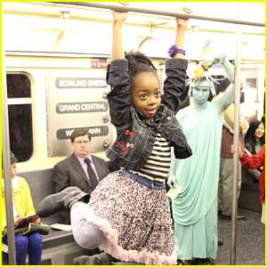 Skai Jackson: Subway Swinger