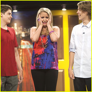 Cole and Dylan Sprouse tease Tiffany Thornton about which twin is
