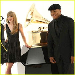 Taylor Swift: Grammy Promo Spot with LL Cool J!