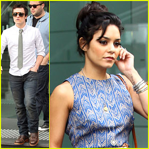Vanessa Hudgens & Josh Hutcherson: 2Day FM Two