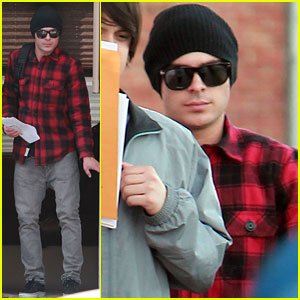 Zac Efron is Plaid for 'Paperboy'!