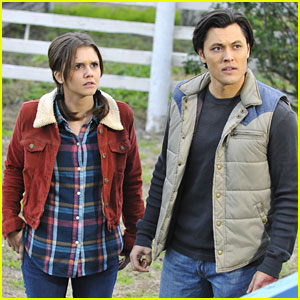 Alexandra Chando & Blair Redford Have a 'Reservation For Two'