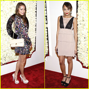 Ashley Madekwe & Jamie Chung Make 'A Buzz' with QVC