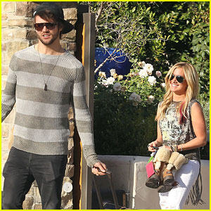 Ashley Tisdale & Martin Johnson: Valentine's Day Getaway