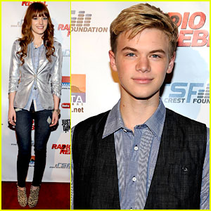 Bella Thorne: 'Radio Rebel' Premiere with Kenton Duty