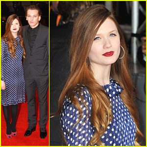 Bonnie Wright & Jamie Campbell Bower: BAFTAs 2012