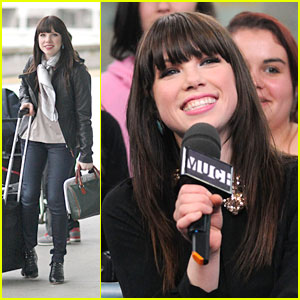 Carly Rae Jepsen: Meeting Justin Bieber in LA!