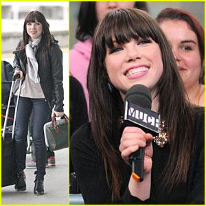 Carly Rae Jepsen: Meeting Justin Bieber in LA!