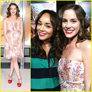 Christa B. Allen & Ashley Madekwe: 'The Vow' Premiere Pair
