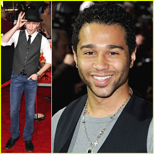 Corbin Bleu & Jason Dolley: 'John Carter' Premiere!