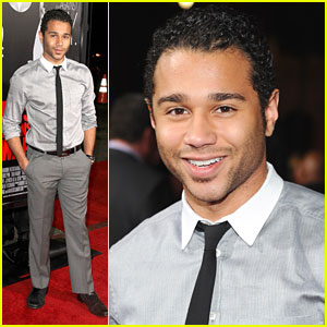 Corbin Bleu: 'This Means War' Premiere
