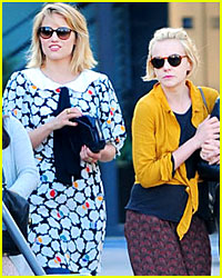 Dianna Agron &#038; Carey Mulligan: Lunch Ladies