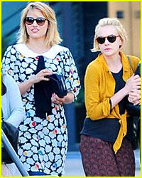 Dianna Agron & Carey Mulligan: Lunch Ladies