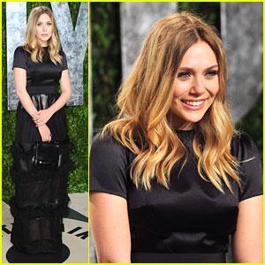 Elizabeth Olsen: Vanity Fair Oscar Party
